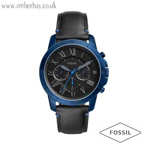 Fossil FS5342 Gents Grant Sport Leather Chronograph Watch