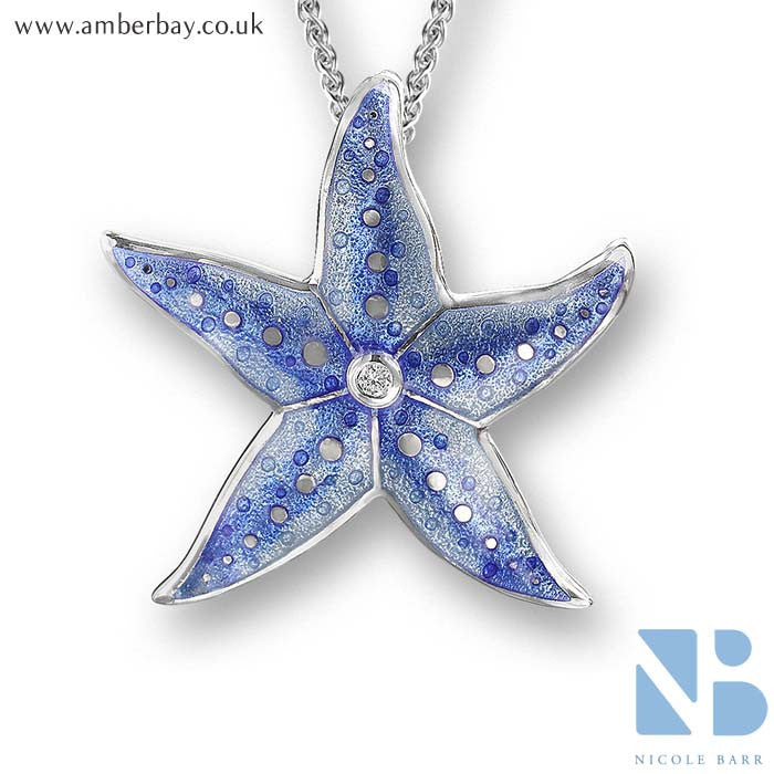 Nicole Barr Starfish Pendant NN0275WA at Amber Bay