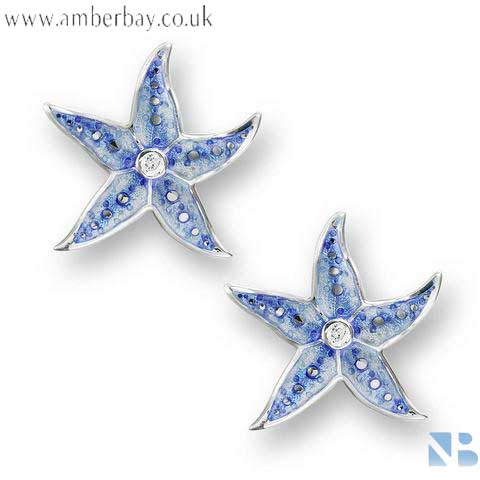 Nicole Barr Starfish Stud Earrings NE0275WA