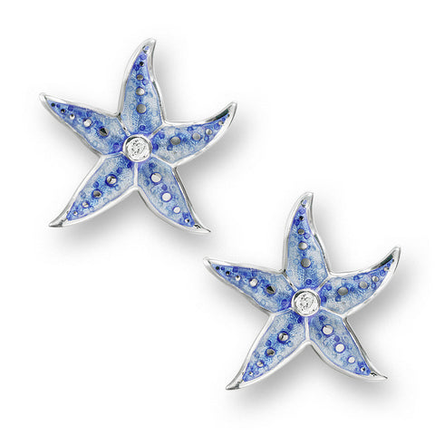 Nicole Barr Starfish Stud Earrings NE0275WA at Amber Bay