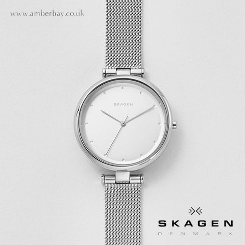 Skagen Ladies Tanja Steel Mesh Watch SKW2485