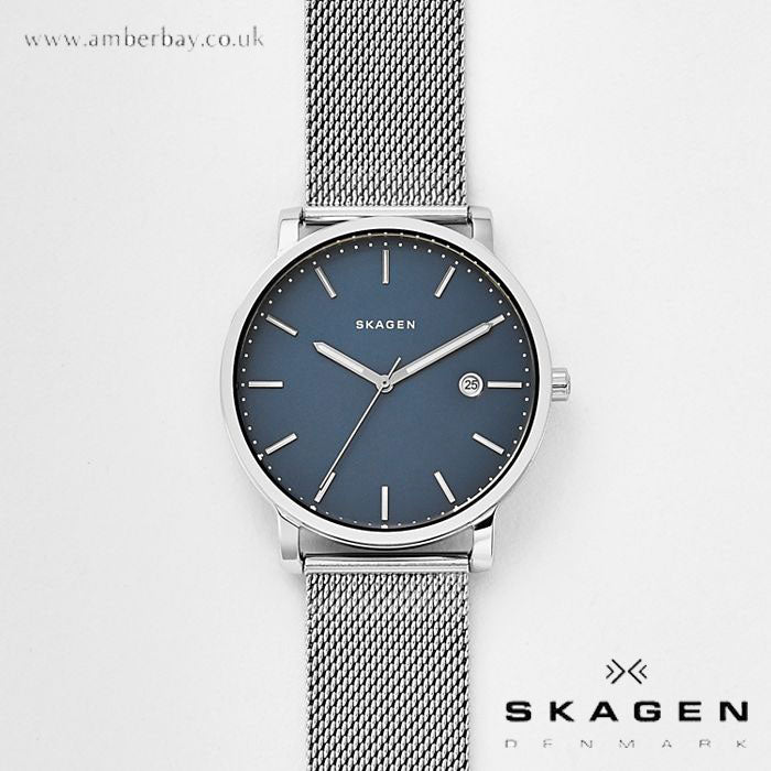 Skagen Hagen Steel-Mesh Watch SKW6327