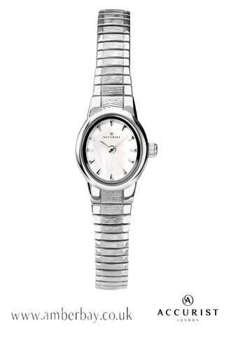 Ladies Stainless Steel Expandable Accurist Watch 8051