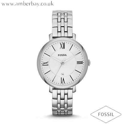 Fossil ES3433 Ladies Stainless Steel Jacqueline Watch
