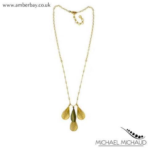 Michael Michaud False Indigo Necklace at Amber Bay