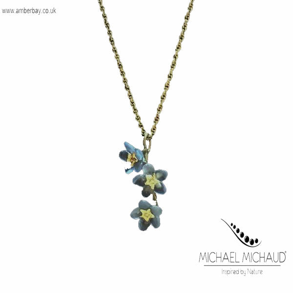 Michael Michaud Forget Me Not Necklace