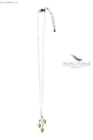 Michael Michaud Autumn Birch Necklace 9056BZ