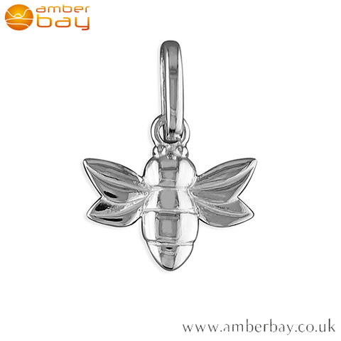 Sterling Silver Bee Pendant/Charm