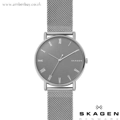 Skagen Gents Signatur Steel-Mesh Watch