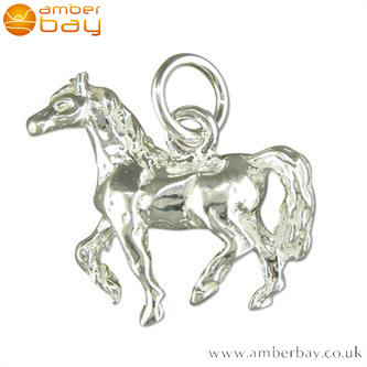 Sterling Silver Horse Pendant/Charm