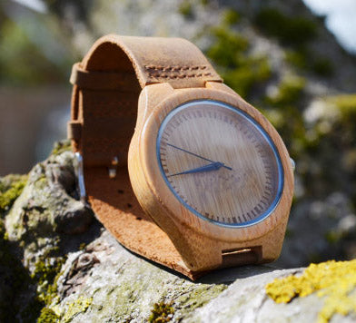 Personalised Wooden watch by Not A Scratch