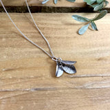 Handmade Silver Bluebell Necklace by Curious Magpie