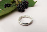 Silver Berry Stacking Rings - Curious Magpie Jewellery - 2