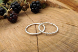 Silver Berry Stacking Rings - Curious Magpie Jewellery - 3