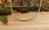 Brass Twig Necklace - Curious Magpie Jewellery - 4