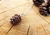 Chunky Copper Pinecone Necklace - Curious Magpie Jewellery - 2