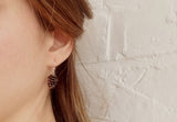 Copper Pinecone Earrings - Curious Magpie Jewellery - 4