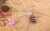 Copper Pinecone Necklace - Curious Magpie Jewellery - 3