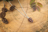 Copper Pinecone Necklace - Curious Magpie Jewellery - 4