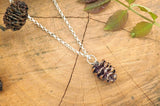 Copper Pinecone Necklace - Curious Magpie Jewellery - 2