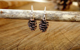 Copper Pinecone Earrings - Curious Magpie Jewellery - 2