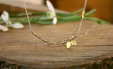 Brass Tree Branch Necklace - Curious Magpie Jewellery - 2