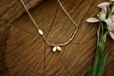 Brass Tree Branch Necklace - Curious Magpie Jewellery - 3