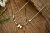 Brass Tree Branch Necklace - Curious Magpie Jewellery - 4