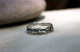 Men's Silver Double Twig Ring - Curious Magpie Jewellery - 5