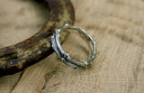 Men's Silver Double Twig Ring - Curious Magpie Jewellery - 4