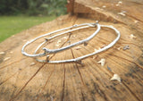 Brass Twig Bangle - Curious Magpie Jewellery - 5