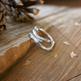 Silver Branch Ring - Curious Magpie Jewellery - 1