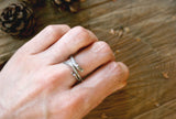 Silver Branch Ring - Curious Magpie Jewellery - 3