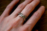 Silver Branch Ring - Curious Magpie Jewellery - 5