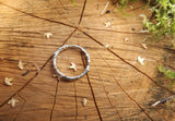 Silver Twig Ring by Curious Magpie Jewellery