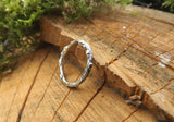 Silver Twig Wedding Rings - Curious Magpie Jewellery - 3