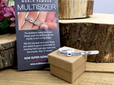 Adjustable ring sizer in UK Alphabetical measurements