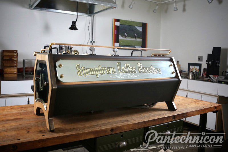 Pantechnicon Custom La Marzocco Strada 3GR for Stumptown, W 8th St, NYC