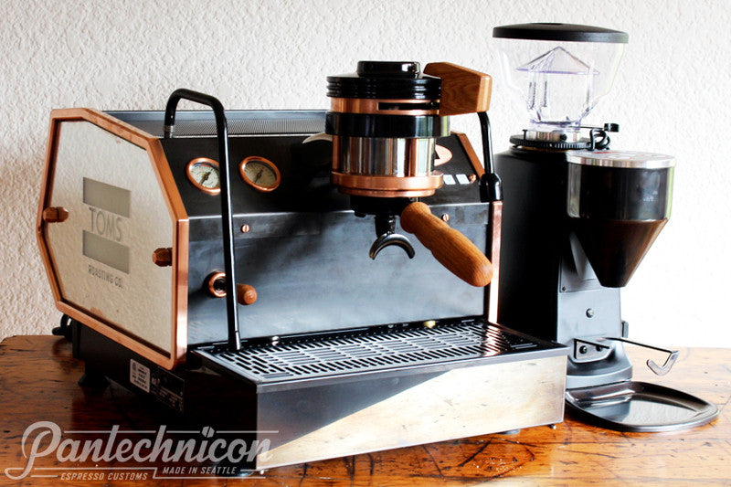 Pantechnicon Custom La Marzocco GS3 MP for Tom's Roasting