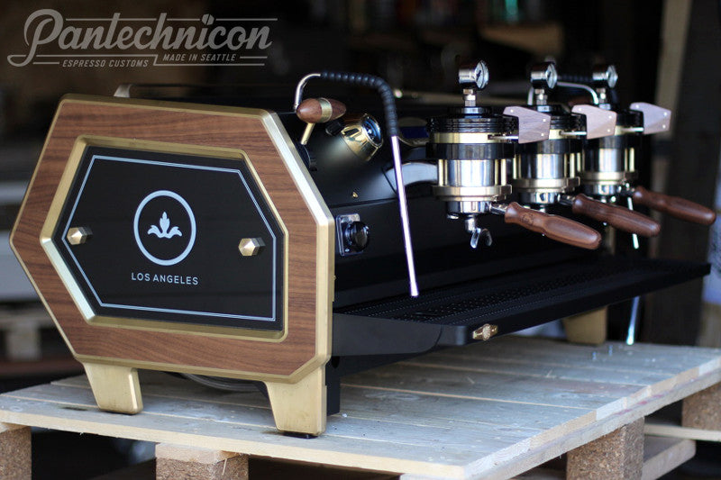 Pantechnicon Custom La Marzocco Strada 3MP for Barista Society, Los Angeles