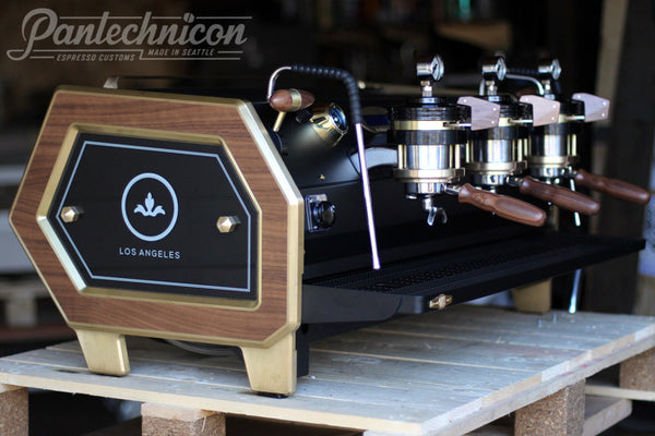 Pantechnicon Custom Strada 3MP for Barista Society, Los Angeles