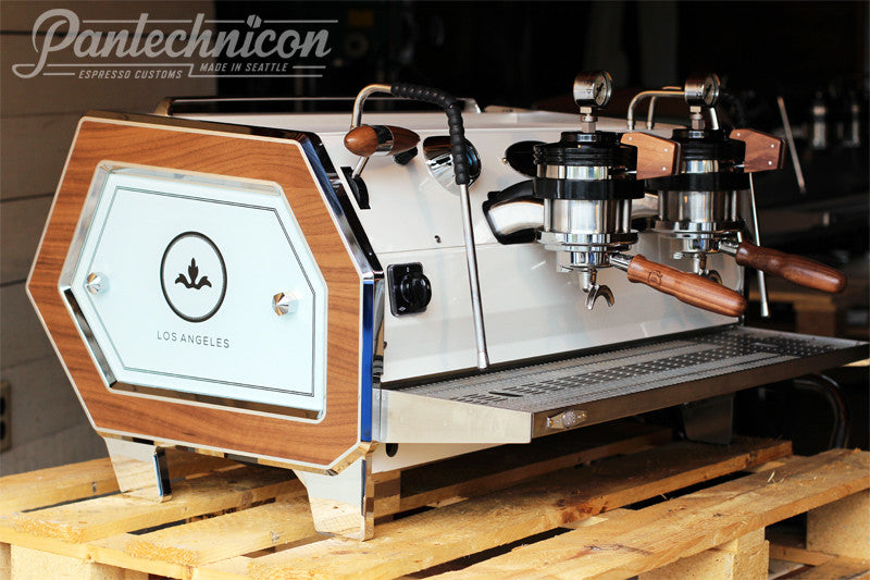 Pantechnicon Custom La Marzocco Strada 2MP for the Barista Society, Los Angeles