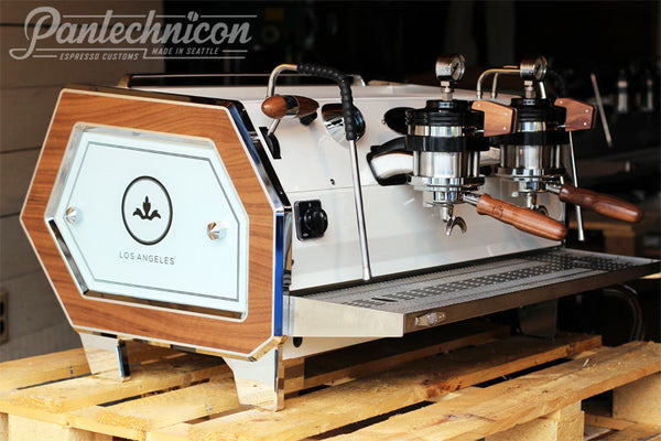 Pantechnicon Custom Strada 2MP for the Barista Society, Los Angeles