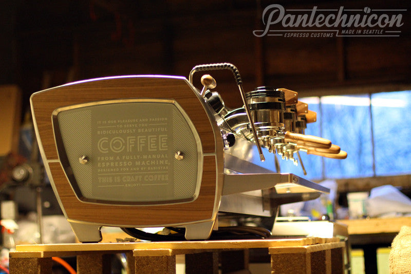 Pantechnicon Custom La Marzocco Strada 3EE for Whole Foods Market, Dallas