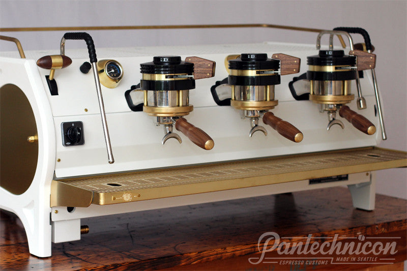 Pantechnicon Custom La Marzocco Strada 3EP for Allegro Flagship