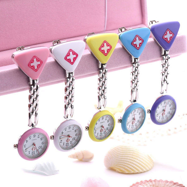Clip Nurse Triangle Pendant Pocket