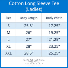 Midwest United Cotton Long Sleeve Tee (Ladies)