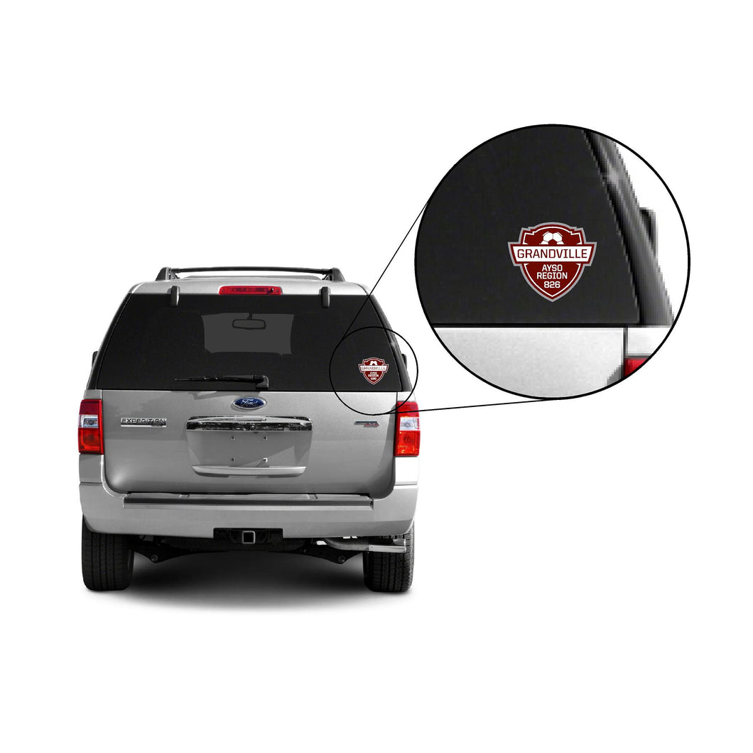 Grandville AYSO Car Decal