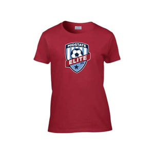 Midstate Elite Ladies Cotton Tee