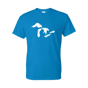 Great Lakes Map Tee